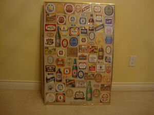 MOLSON BEER POSTER-200th Anniversary Commemorative Poster