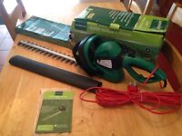 New electric hedge trimmer cutter garden lawn pruner ect
