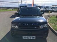 2010 60 Land Rover Range Rover Sport 3.0TD V6 AUTO HSE METALLIC BLACK
