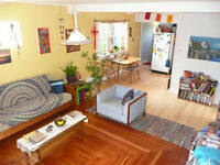 Two rooms available in funky Character home University District