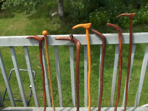 All Canes and Hiking sticks must go...MOVING.