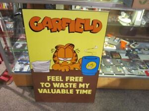2 By 3 Foot Size GARFIELD Wall Art Piece For Sale