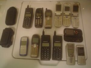 COLLECTION OF CELL PHONES ALL FOR $50.-