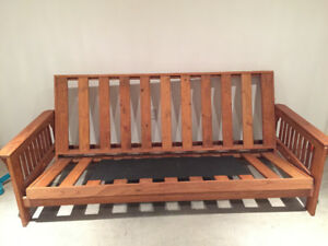 Wooden futon (frame only) $80