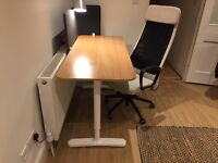 Home Office Desk & Chair (nearly new)
