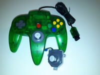 Hard To Find Transparent Green Nintendo 64 (N64) Controller Ottawa Ottawa / Gatineau Area Preview