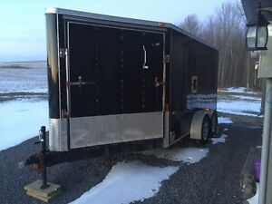 2010 Enclosed 7' x 16' trailer