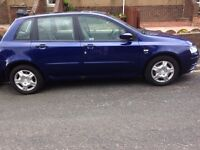 2004 FIAT STILO ACTIVE 16 V BLUE