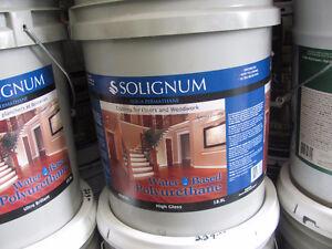 polyurethane floor varnish water base 18.9L