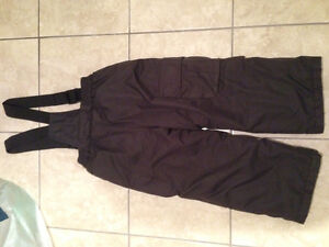 Boys Brown Snowpants Size 4-5 Years