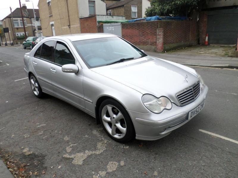 2003 mercedes benz c class c270 cdi avantgarde se 4dr auto in forest gate london gumtree. Black Bedroom Furniture Sets. Home Design Ideas