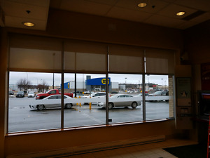 Used commercial roller shades