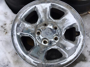 4 Jantes Chrome 5X139.7 Dodge Ram 1500