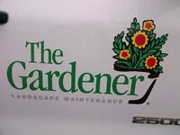 Full time Lawn and Garden Maintenance Worker