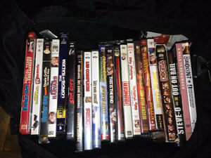 DVD COLLECTION- 20 DVD'S FOR $20- CHECK PICTURE