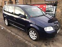 2004 VW TOURAN S 1.9 TDI, NOVEMBER 2017 MOT, WARRANTY, NOT ZAFIRA SCENIC PICASSO