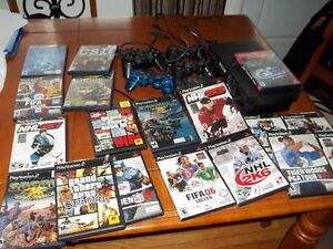 ps2 with games Cambridge Kitchener Area image 7