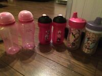 Sippy cups and playtex bottles