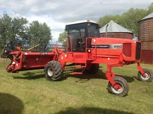 MF220 26ft Swather for Sale Strathcona County Edmonton Area image 1
