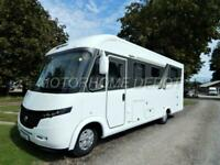 Frankia I740 QD 4 Berth, 4 Travelling Seats, Loaded with extras