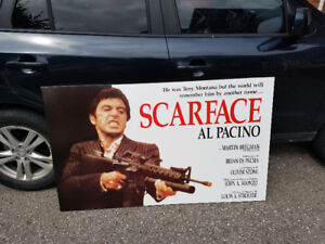 HUGE Scarface Collectible Picture for Wall - Only $20