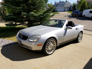 1998 Mercedes Benz Slk Convertible