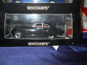 1/43 diecast Minichamps BentleyContinental R-Type 1954 Black