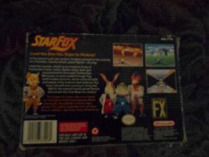 SNES Starfox Complete in Box With Manual Cambridge Kitchener Area image 2