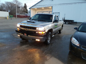 01 chevy 2500 truck and 08 impalla for sale or trade for a truck