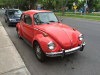 Volks Super Beetle 1973
