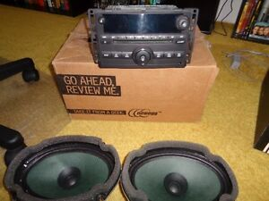 Stereo for 2007-08 Pontiac G5 with two rear speakers - $150