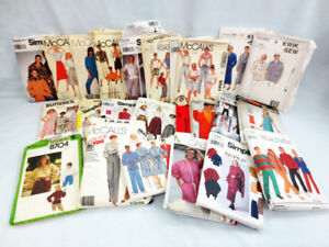 Variety of Sewing Patterns