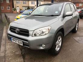 2007 Toyota RAV4 2.2 D-4D XT4 diesel, 103,000 miles, full history, **LEATHER**