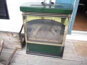 2 Propane Fireplaces