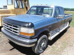 ford f-250 7.3 pieces ou route