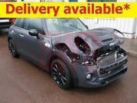 2015 Mini Cooper S 2.0 DAMAGED REPAIRABLE SALVAGE
