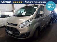 2014 FORD TRANSIT CUSTOM 2.2 TDCi 125ps Low Roof Limited Van