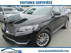 Lincoln MKX AWD TOIT OUVRANT,CUIR,NAVIGATION,DÉMAR DIST 2016