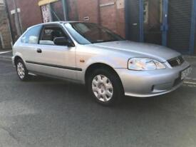 2000 Honda Civic 1.4 i Tropica Limited Edition Hatchback 3dr Petrol Manual