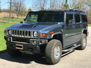 2005 HUMMER H2 WITH 2017 OPTIONS