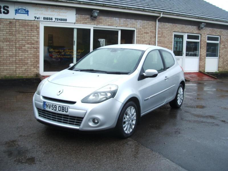 2009 59 renault clio 1 2 tce 16v dynamique 3d 61k new mot in bridgend gumtree. Black Bedroom Furniture Sets. Home Design Ideas
