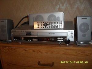 panasonic sa-ht820v surround sound dvd/vcr player 70$orbestoffer