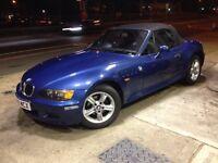 BMW Z3 1.9 Petrol Convertible 2000 Model Great Car Long MOT