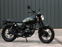 Hanway RAW 125cc Cafe Racer Custom Retro Classic style motorcycle