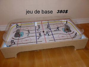 LNH JEU DE HOCKEY TABLE BOARD COLECO GAME ROOM MONTREAL QUEBEC West Island Greater Montréal image 5