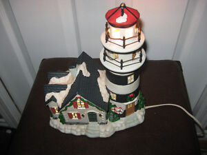 Santa's Workbench Collection; Highland Point Lighthouse; 2000