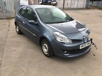 2006 Renault Clio 1.4 71 miles spares repair running driving salvage