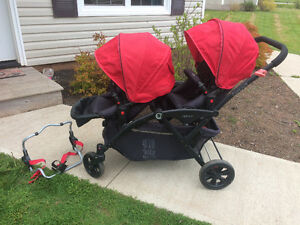 Options Tandem Double Stroller