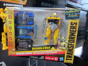Transformers Target Exclusive Bumblebee Greatest Hit Cassettes
