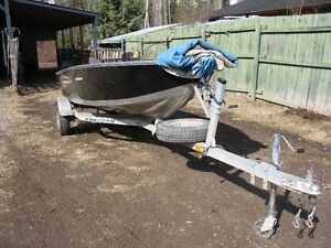 Aluminun Fishing boat 2014